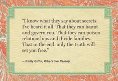 Loveee Emily Giffin!
