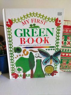 MY FIRST GREEN Book - A life-size guide to caring for our environment, Hardcover Book, Children's DiY Book, Vintage  Go Green, 1996 by TurnThePageBookShop on Etsy