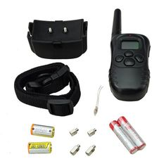 Remote Vibrate and Shock Electric Pet Dog Training Collar with LCD Display 300 meters *** Check this awesome product by going to the link at the image. (This is an Amazon affiliate link)