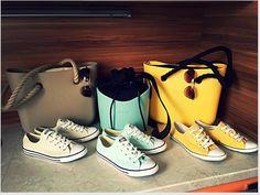 Písková mini, žlutá mini a mentol o'basket