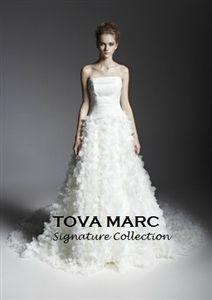 Drop Waist Organza Bridal Gown
