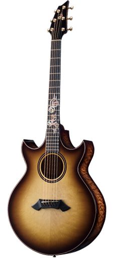 Breedlove Introduces the Steam Punk Custom at 2013 NAMM Breedlove Guitars, Custom Acoustic Guitars, Guitar Photos, Guitar Lessons For Beginners, Gibson Guitars, Pulsar, Guitar Design, Cool Guitar, Playing Guitar