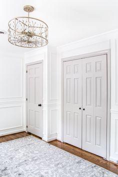 BM Stonington Gray painted interior doors