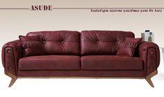 Asude Koltuk takımı Sofa Furniture, Sofa Chair, Couch, Sofas, Sofa Styling, Upholstered Sofa, Chair Design, Decoration, Chesterfield