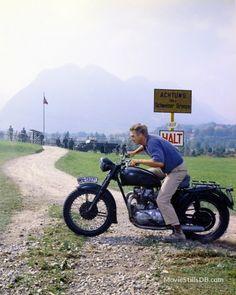 The Great Escape - Promo shot of Steve McQueen