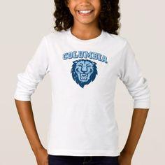 Columbia University | Lions - Vintage T-Shirt - college tshirts unique stylish cool awesome t-shirt shirt tee