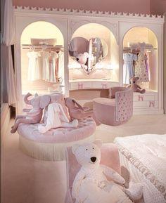 Kid room decor - 45 inspiring and creative boy and girl bedroom ideas nursery ideas 28 Girl Bedroom Designs, Room Ideas Bedroom, Baby Bedroom, Nursery Room, Girls Bedroom, Bedroom Decor, Nursery Ideas, Luxury Kids Bedroom, Rich Girl Bedroom