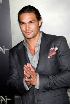 Momoa...yes please! Loved him in Game of Thrones