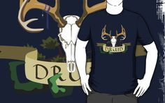 Here's one I have been wanting to make for some time. Druids. Love them. If you love them too, here's a T-shirt showing off that fact