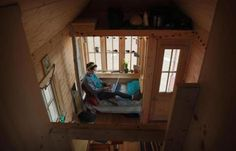 In a tiny house, large lessons about life