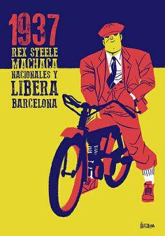 José Luis Agreda - Rex Steele machaca fachas. | Flickr - Photo Sharing!