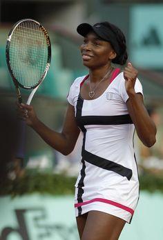 Venus Williams - French Open 2012 1st Round