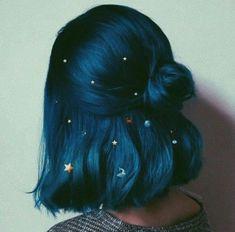 Hair Dye Colors, Cool Hair Color, Hair Color Blue, Hair Color Ideas, Scene Hair Colors, Blue Purple Hair, Creative Hair Color, Creative Makeup, Dye My Hair