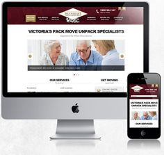 White Glove Mover - Melbourne Removalists.  http://www.whiteglovemover.com.au/ www#WebDesign #ResponsiveDesign #MobileWebsite