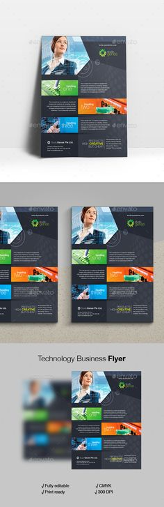 Technology #Business #Flyer - #Corporate Flyers