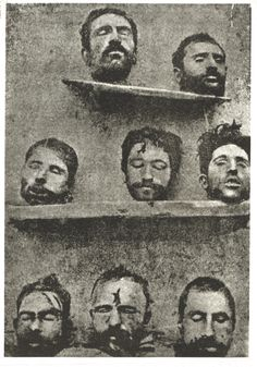 The heads of executed Armenians..Morbid but shows how the Turks treated them. I dare anyone to tell me that the Genocide didn't happen.
