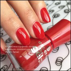 Essence Nail Polish: Essence Fame Fatal. Lotsa Essence swatches at imabeautygeek.com