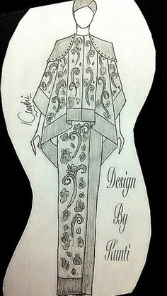 54 Ideas for fashion drawing model artists Fashion Design Drawings, Fashion Sketches, Hijab Fashion, Fashion Art, Dress Design Drawing, Korean Best Friends, Fashion Desinger, Fashion Drawing Dresses, Dress Sketches
