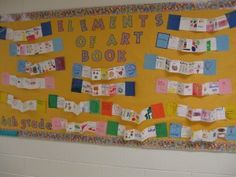 4th grade element of art accordian style books