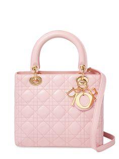 Pink Lambskin Lady Dior Small from Vintage Spotlight: The Mini Handbag on Gilt