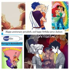 Happy anniversary percabeth