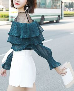 bcdcdb01a76 Long Sleeves Summer Chiffon Shirt