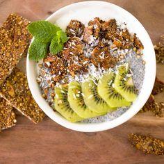 Eiwitrijke suikervrije quinoa brittle granola - Amber Albarda