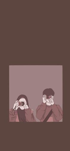Cute Couple Drawings, Cute Couple Cartoon, Cute Couple Art, Cute Love Cartoons, Cute Drawings, Cute Couple Wallpaper, Cute Emoji Wallpaper, Cute Wallpaper Backgrounds, Cute Cartoon Wallpapers