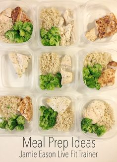 Meal Prep Ideas plus the Jamie Eason Live Fit Trainer review   www.lifewithgraceblog.com   #healhtyhabbits #healthyliving #mealprep