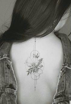Alliance geometrie et theme floral