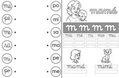 fichas por sílabas  APRENDER A LEER Y ESCRIBIR ACTIVIDADES PARA NIÑOS