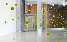 SUSPENDED TENNIS BALLS - Google Search