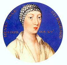 "Henry FitzRoy (1519 - 1536). Son of King Henry VIII and Elizabeth ""Bessie"" Blount. He married Lady Mary Howard."