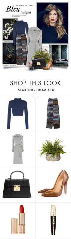 """""""Good Morning Thursday"""" by thewondersoffashion ❤ liked on Polyvore featuring WearAll, Carven, Karen Millen, Gucci, Christian Louboutin, Estée Lauder and L'Oréal Paris"""