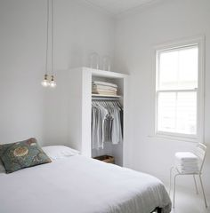 clothing-storage. love it.   Inspiroivaa viikonloppua - Coco Sweet Dreams | Lily.fi