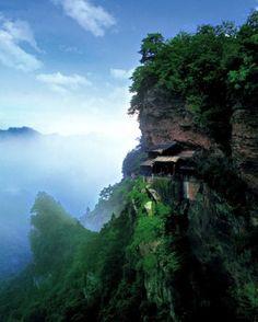 nanyan temple @ wudang mountains, china