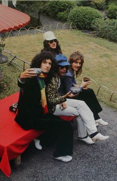 First Japan Visit. Queen in Kyoto, 1975.