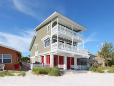 Seaside,  851 N. Shore Dr.,  Anna Maria, Fl. 34216,  Seaside is a private, luxury home located on the very northern tip of Anna Maria Island. It looks directly at the Skyway...