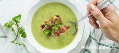 Wist je dat je met snijbonen een heerlijke soep kunt maken? Lekker met wat uitgebakken spek!
