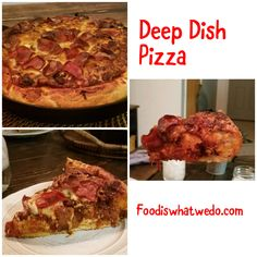Food from around the world to your table! Deep Dish, Pizza, More, Pepperoni, Dishes, Desserts, Blog, Recipes, Tailgate Desserts