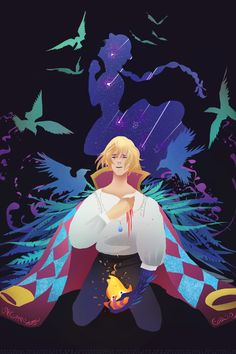 Howl and Sophie Hayao Miyazaki, Howl's Moving Castle, Totoro, Studio Ghibli Art, Studio Ghibli Movies, Anime Manga, Anime Art, Howl Pendragon, Howl And Sophie