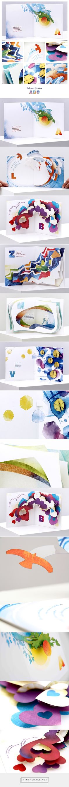 ABC – Pop-up Poem Book on Behance - created via https://pinthemall.net