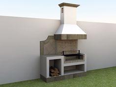 17 Amazing Outdoor Barbeque Design Ideas – Local Home US – Home Improvement Barbecue Garden, Outdoor Barbeque, Backyard Bbq Pit, Small Backyard Patio, Barbeque Design, Grill Design, Parrilla Exterior, Pergola, Diy Outdoor Kitchen