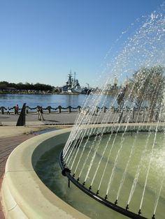 fountain in Downtown ILM