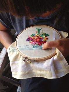 Poppytalk: Dispatch from Spain | The Embroidery of Señorita Lylo