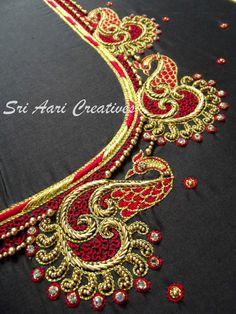 Pls reach us - 9514395293 Peacock Blouse Designs, Best Blouse Designs, Simple Blouse Designs, Stylish Blouse Design, Silk Saree Blouse Designs, Bridal Blouse Designs, Blouse Neck Designs, Bridal Mehndi Designs, Peacock Design