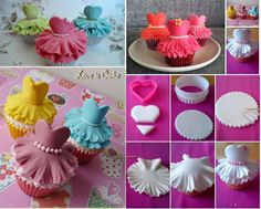 Wonderful DIY Cute Ballerina Cupcake