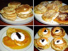 1_kynute-livance-recept Pancakes, Breakfast, Food, Morning Coffee, Essen, Pancake, Meals, Yemek, Eten