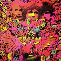 "Cream  ""Disraeli Gears"" 1967"