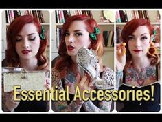 Essentials for a Rockabilly & Pinup Wardrobe: Accessories!! by CHERRY DOLLFACE - YouTube